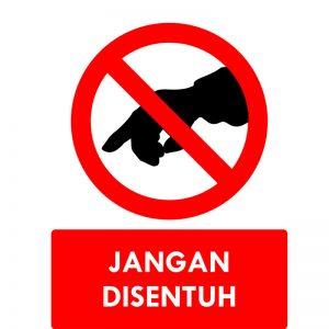 Jangan Disentuh