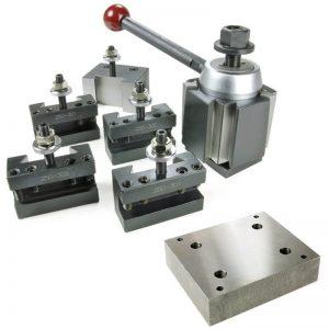 adjustable toolpost mesin bubut