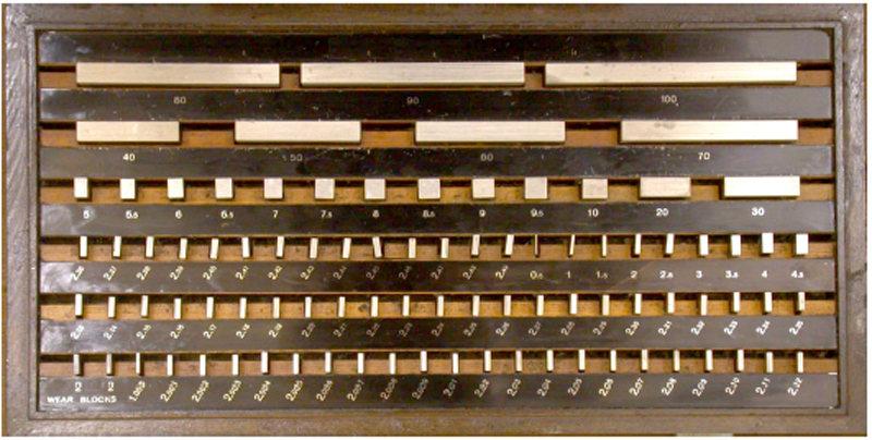 blok ukur adalah salah satu jenis alat ukur standar