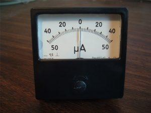 Analog Voltmeter posisi nol