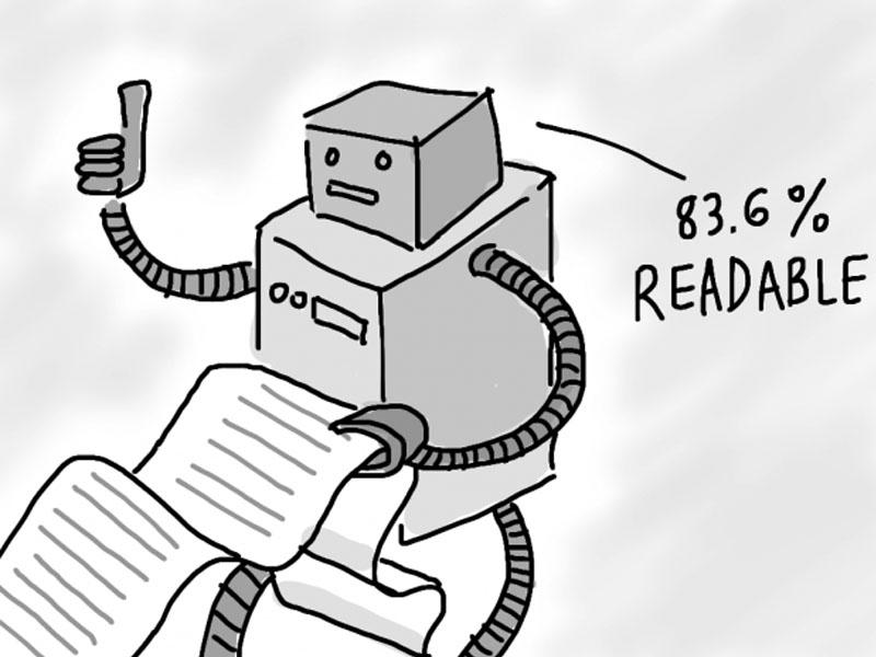 sifat kemudahan baca dari alat ukur