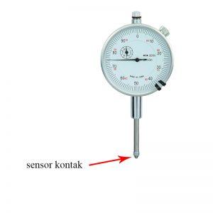 sensor kontak bagian utama dari alat ukur