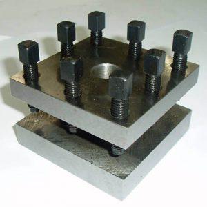 standar toolpost mesin bubut