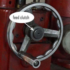 feed clutch