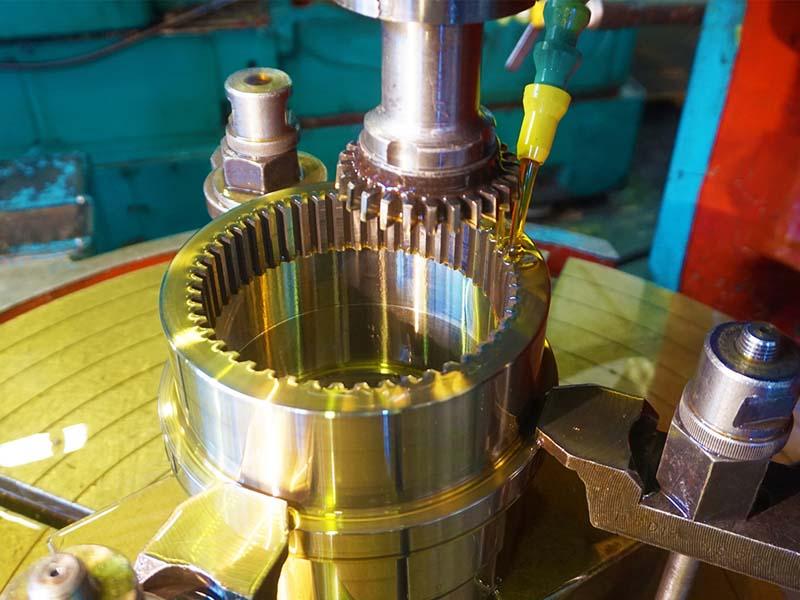 pembuatan roda gigi dengan cara gear shaping