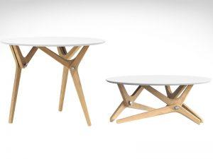 boulon blanc table