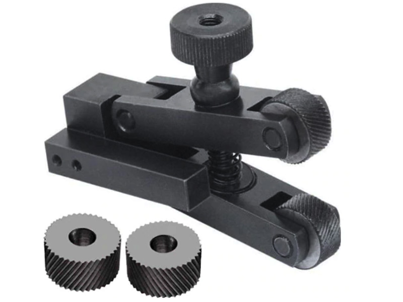 knurling holder clamp type