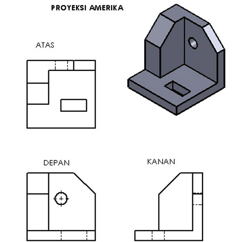 proyeksi amerika