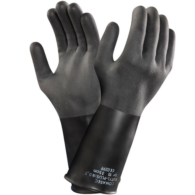 sarung tangan butyl