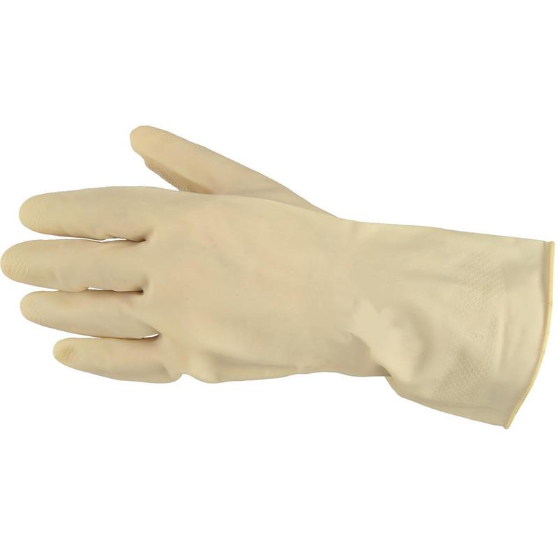 sarung tangan karet natural