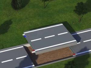 plastic road construction