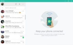 buka whatsapp di aplikasi pc