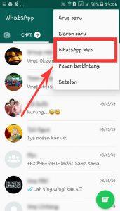 klik whatsapp web