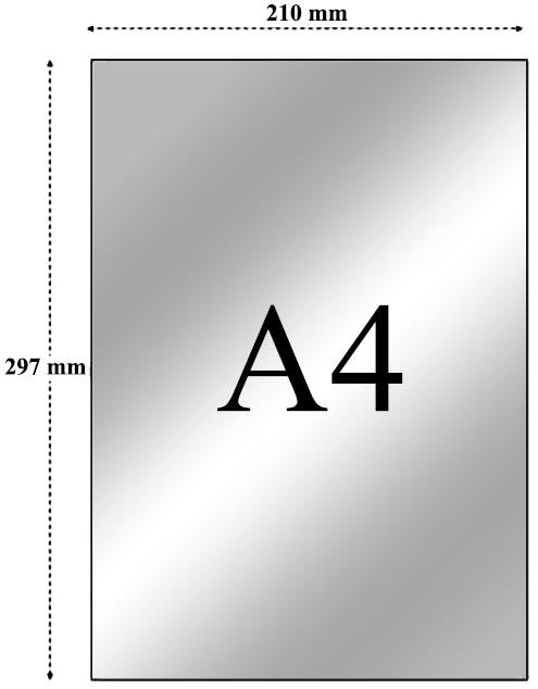 kertas A4