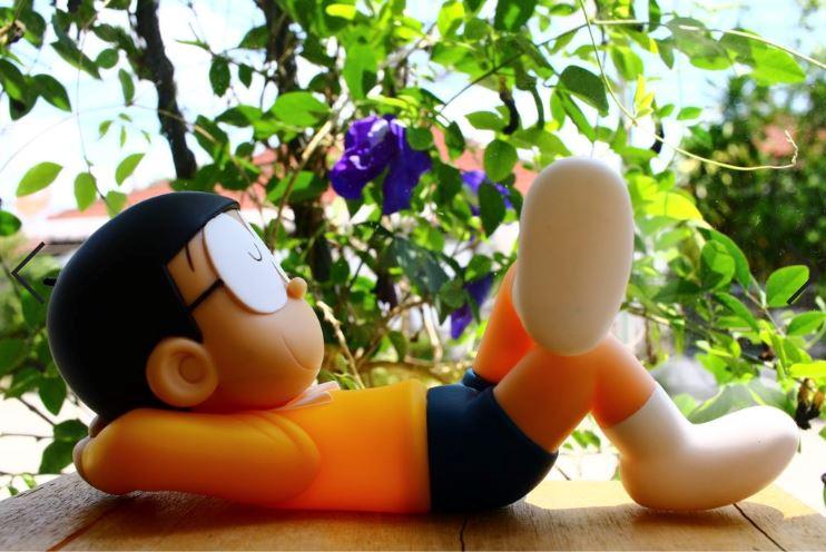 Gambar nobita tidur