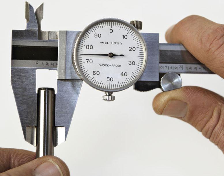 jangka sorong analog / dial caliper