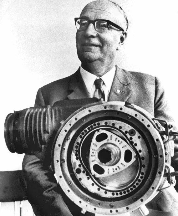 penemu motor rotary felix wankel