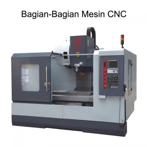 bagian-bagian mesin cnc