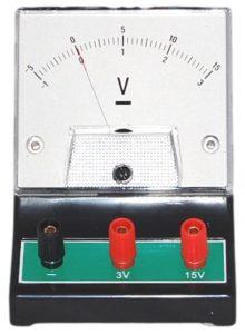 bagian-bagian voltmeter