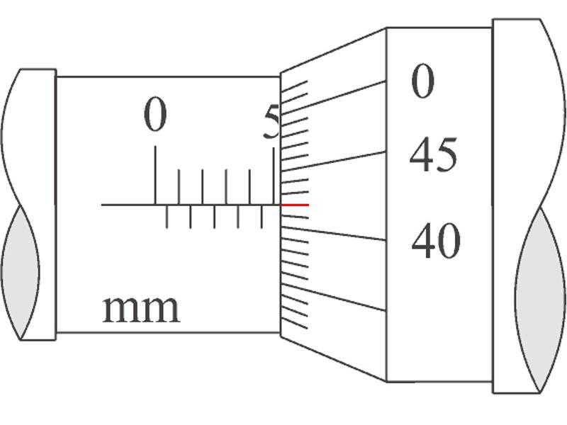 cara membaca skala nonius mirometer sekrup