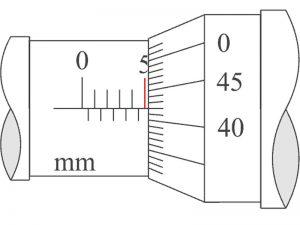 cara membaca skala utama mirometer sekrup