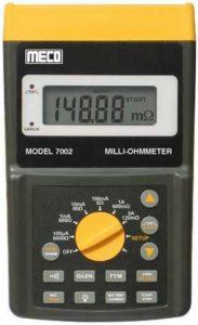 ohmmeter digital
