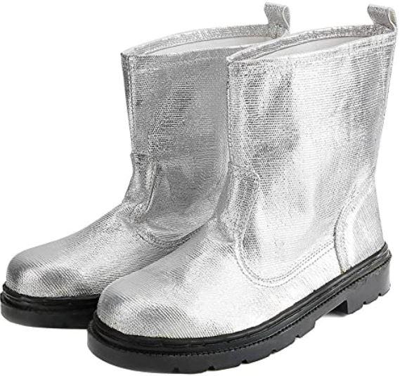 sepatu safety heat resistant shoes