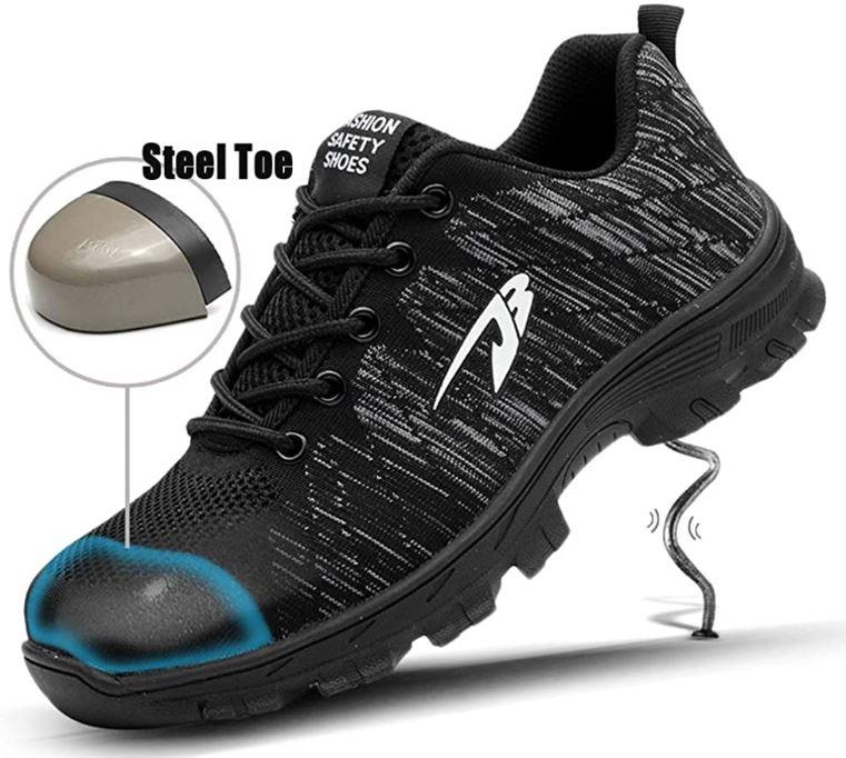 sepatu safety toed shoes