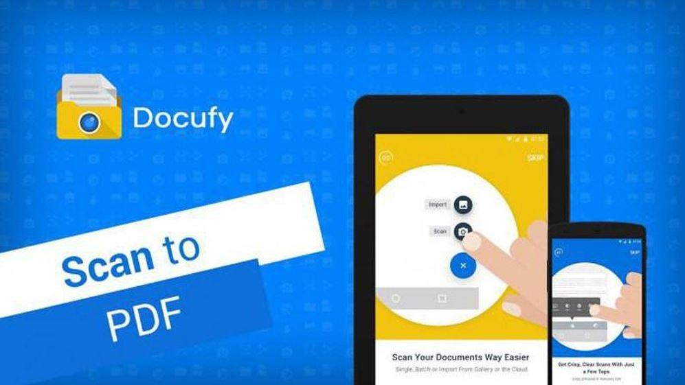 aplikasi scan dokumen docufy scanner