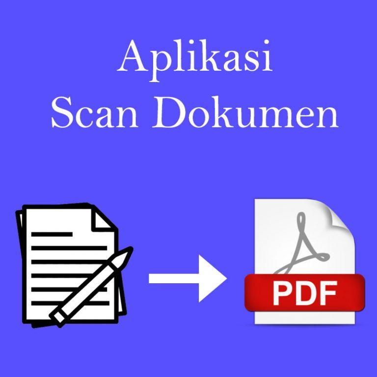 cover aplikasi scan dokumen