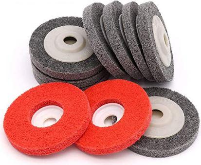 batu gerinda Non-Woven Nylon Wheel